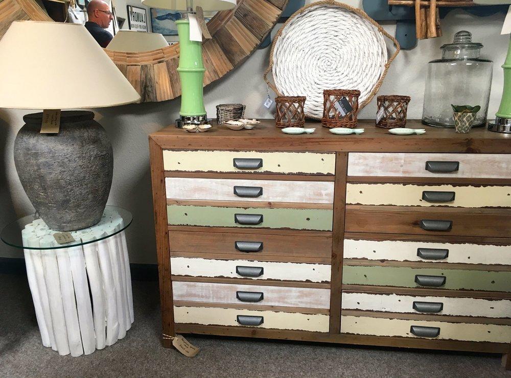 a vintage looking set of drawers
