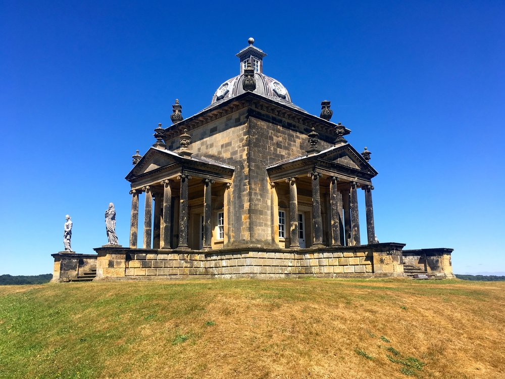 Temple of the Four Winds at Castle Howard in Yorkshire