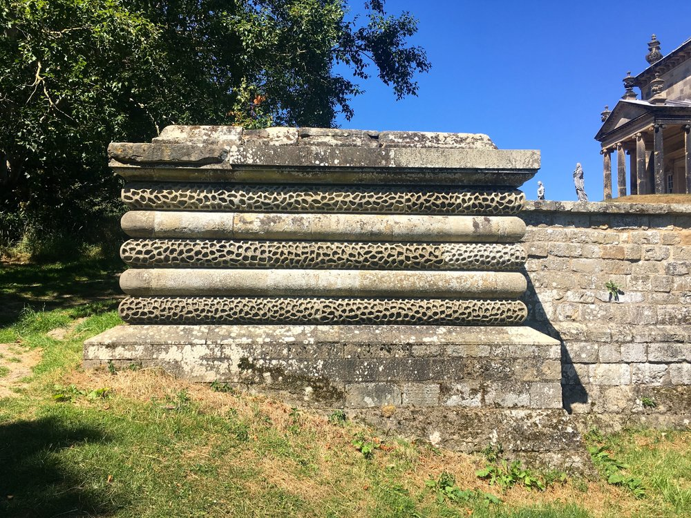 Stonework and blue skies in Yorkshire