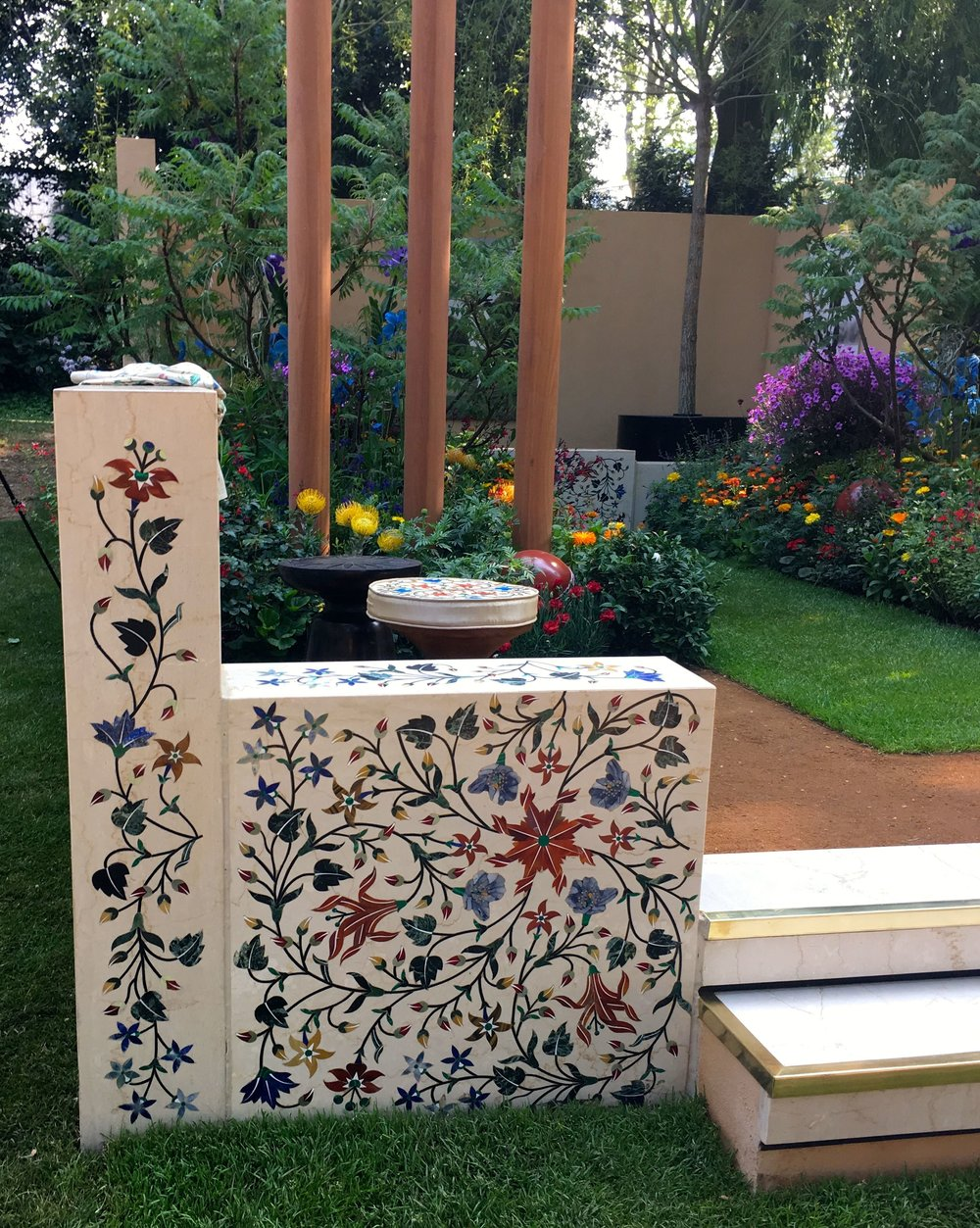 A billion dreams - the artisan garden by the British Council at the Chelsea Flower show