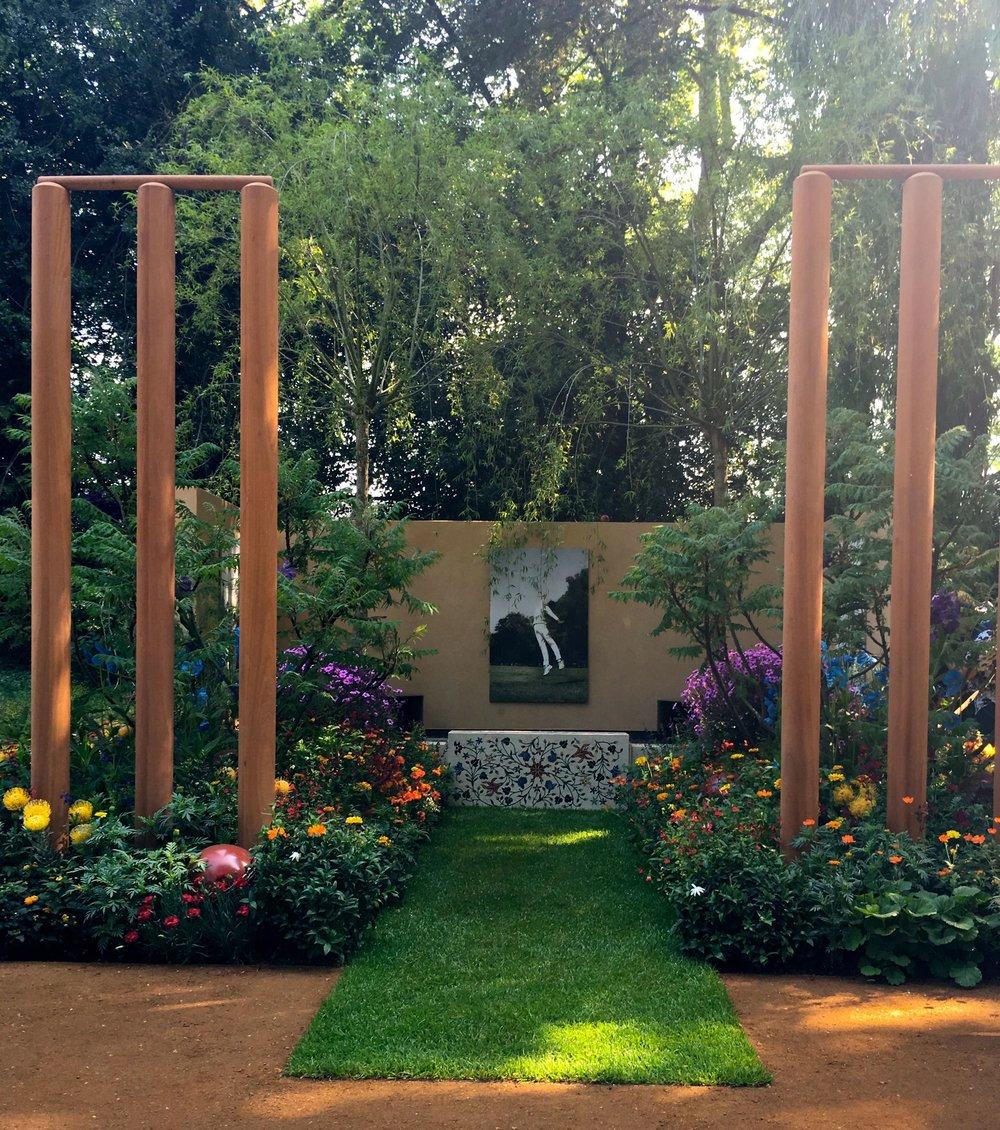 howzat for a garden design