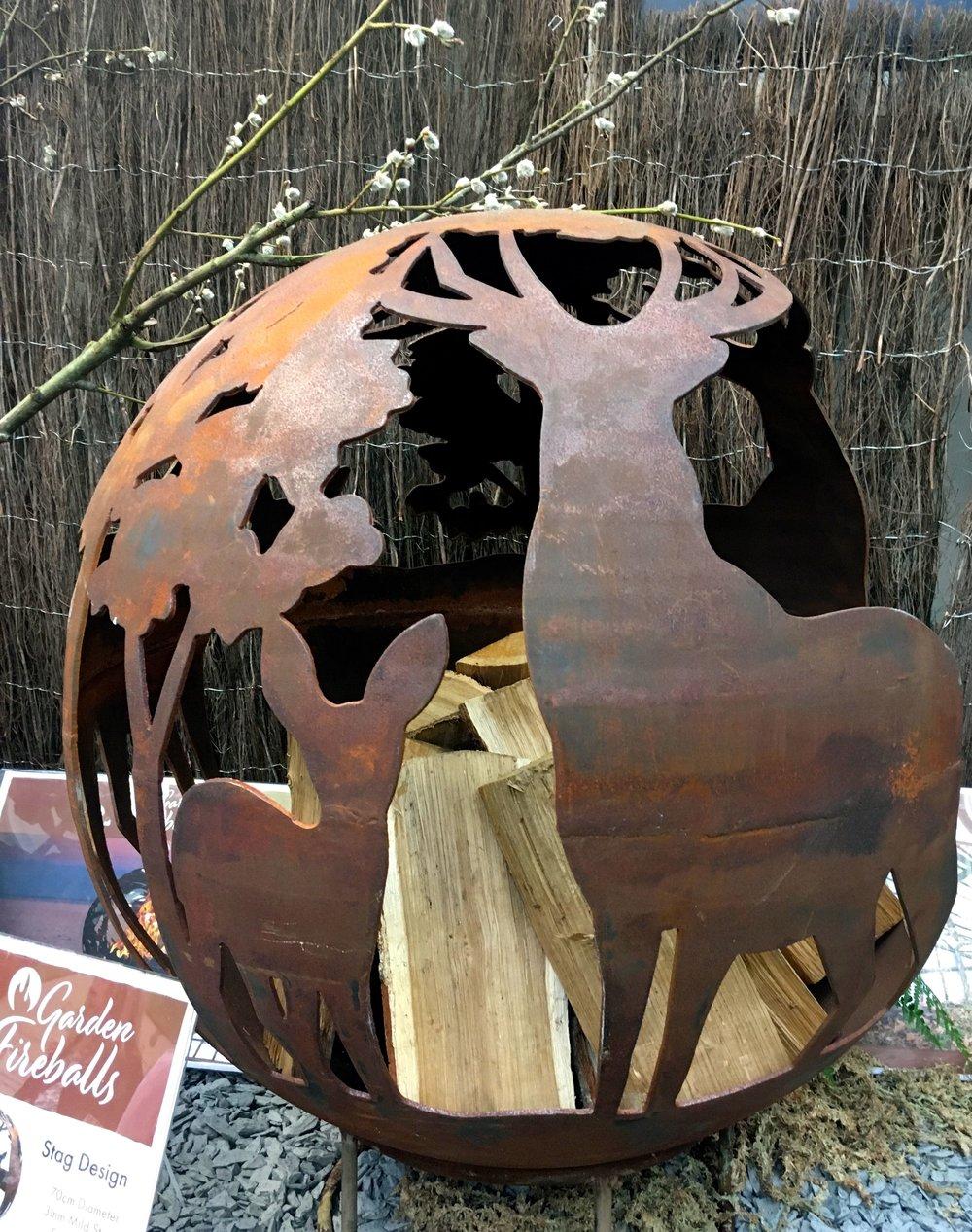 A stag design fireball