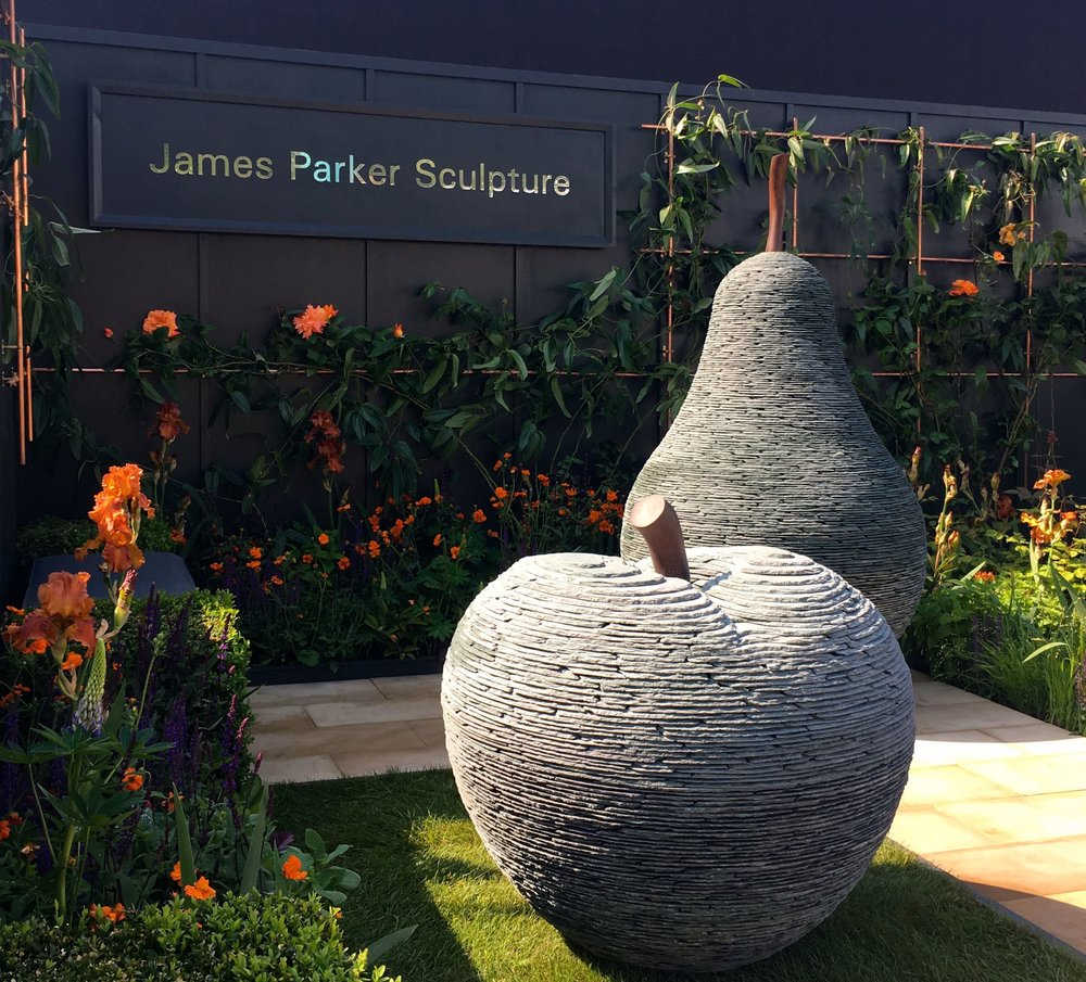 james parker's sculptures at Chelsea were certainly eye catching