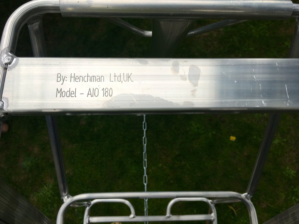 My new henchman ladder