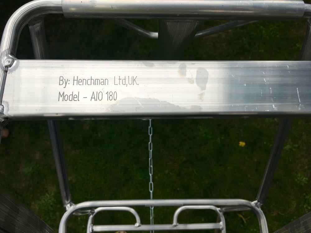 My new henchman ladder