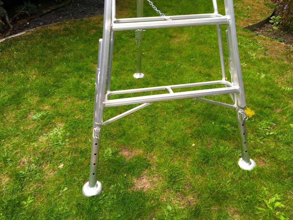 3 legs on my ladder
