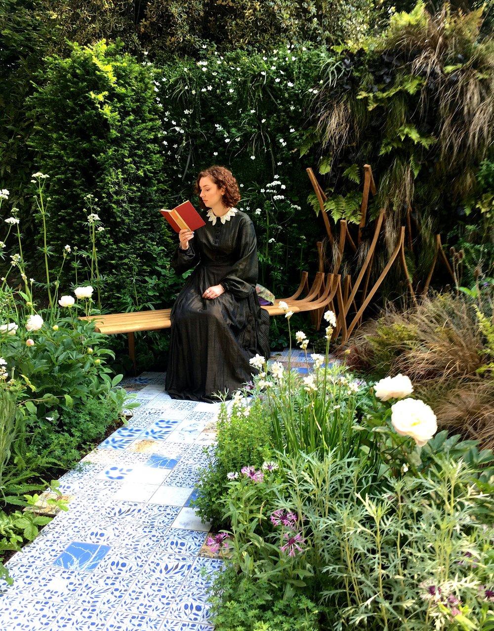 Leslie Forbes' novel Embroidered Minds of the Morris Women