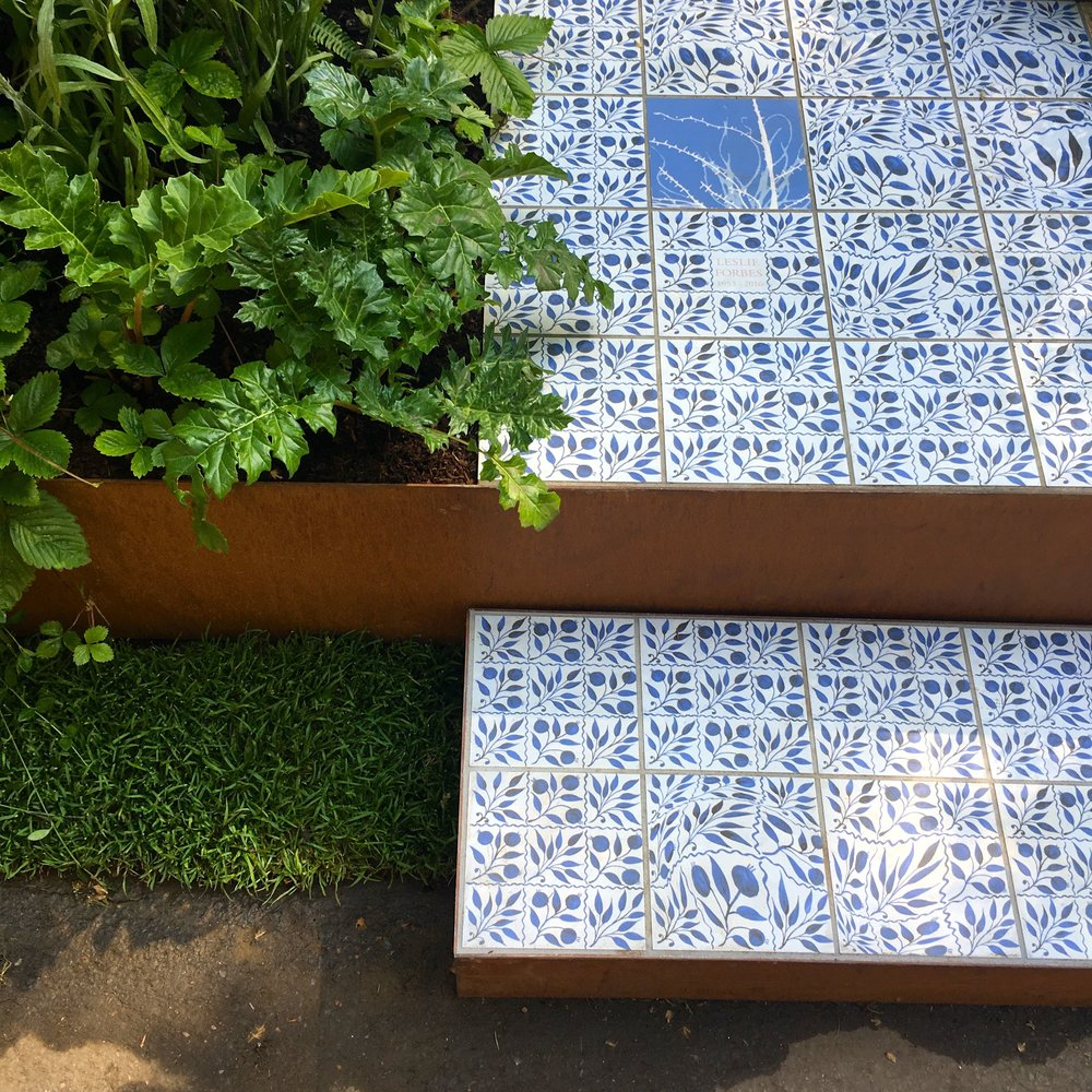 This artisan garden at RHS Chelsea raises awareness of epilepsy