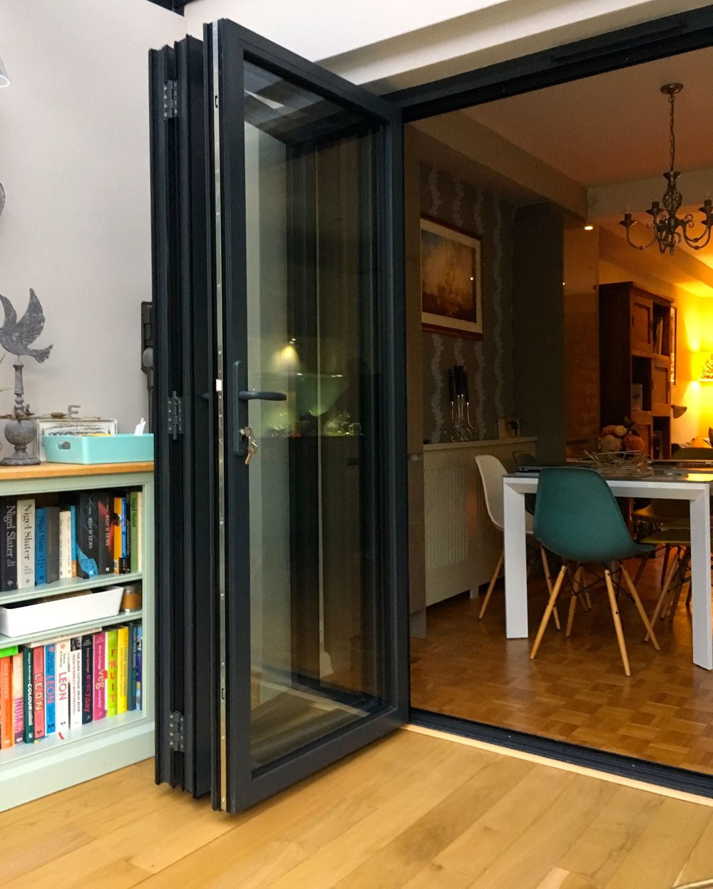 the internal bifold doors