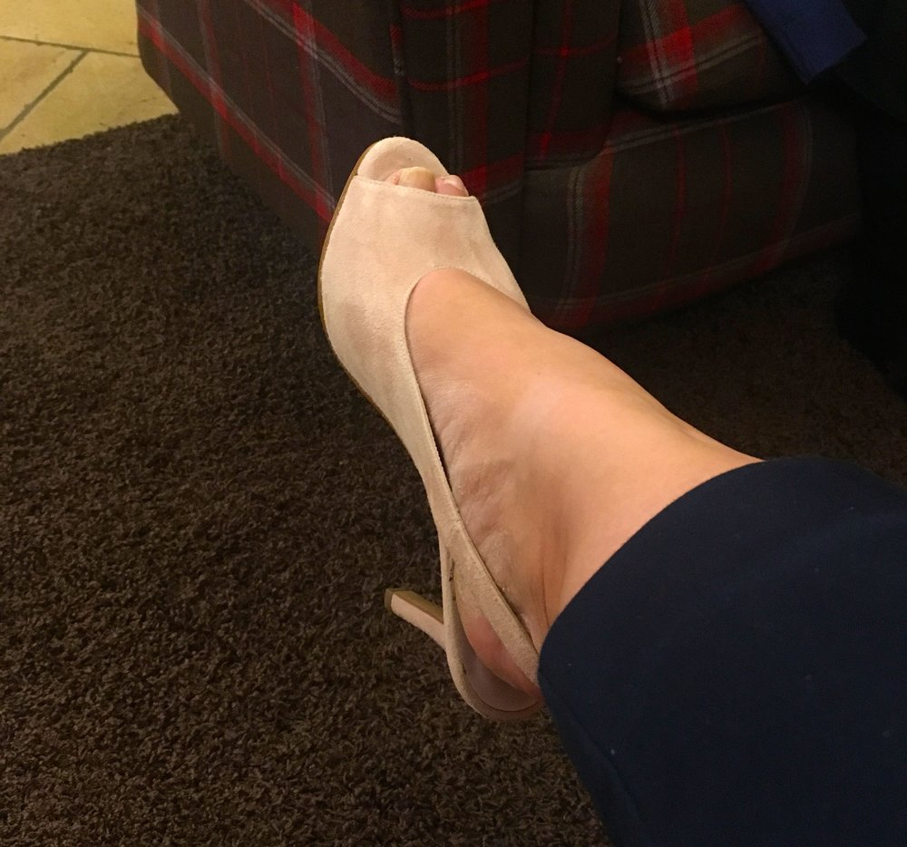 A good excuse to wear some heels