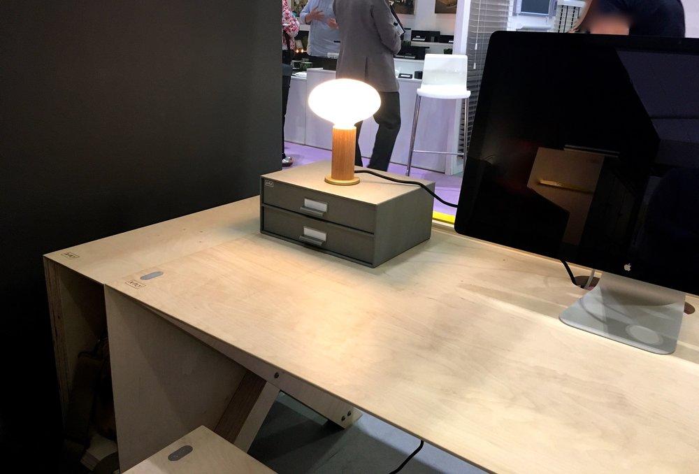 x-ply desking plastics free furniture
