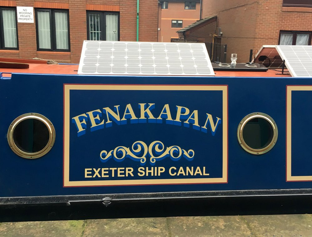 A WINE BARGE, WITH THE BEST NAME
