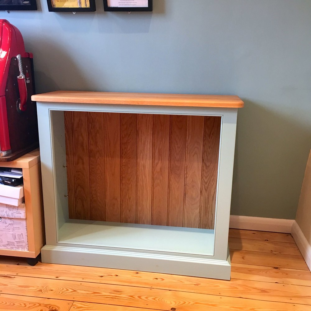 A new home for one of our bookcases