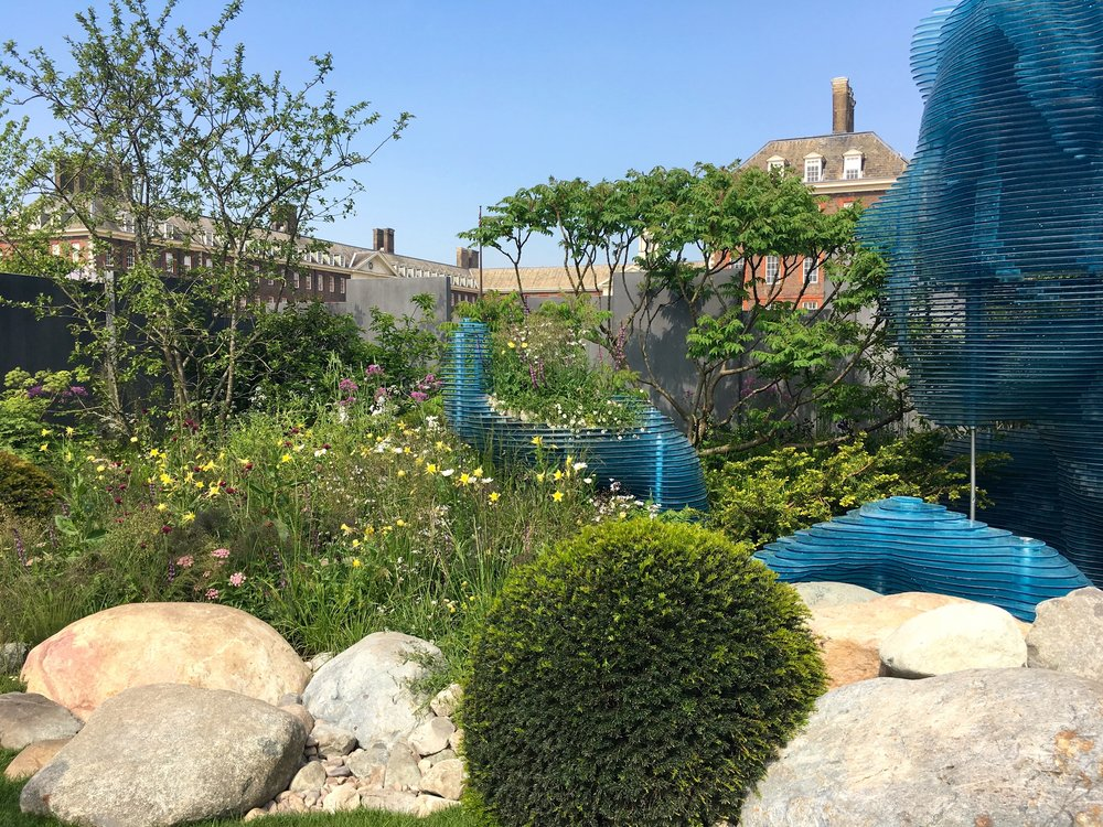 The Myeloma UK garden of care and hope