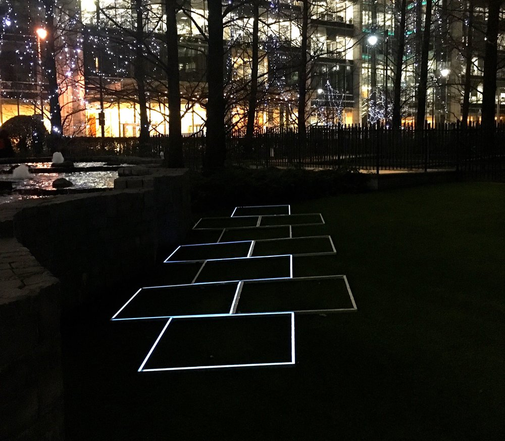 hopscotch winter lights canary wharf