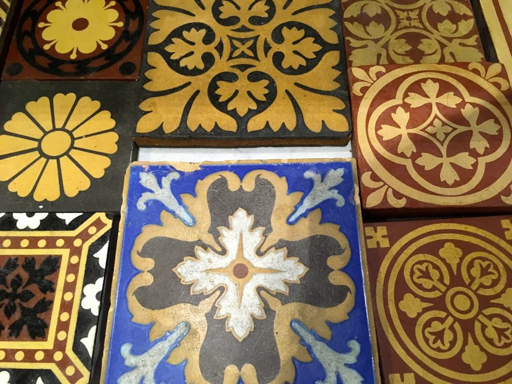 encaustic tiles to rival those from Portugal