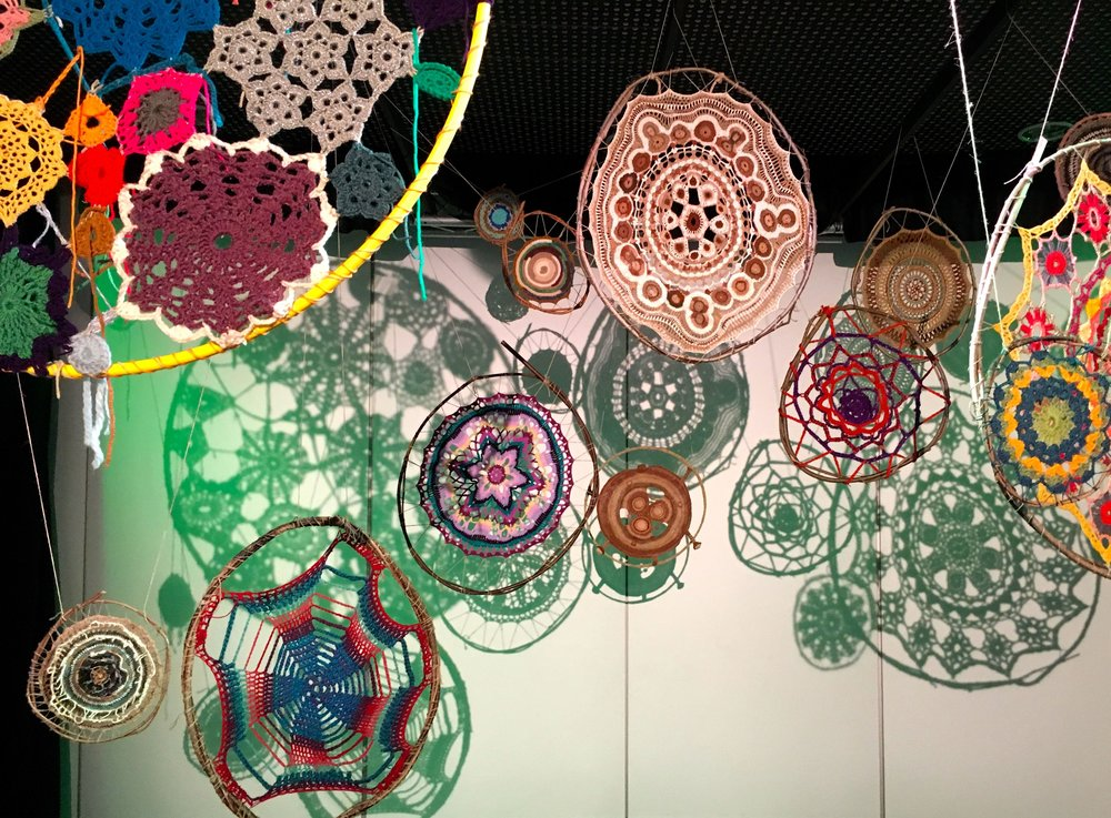 mandalas as part of the Norfolk Makers Festival