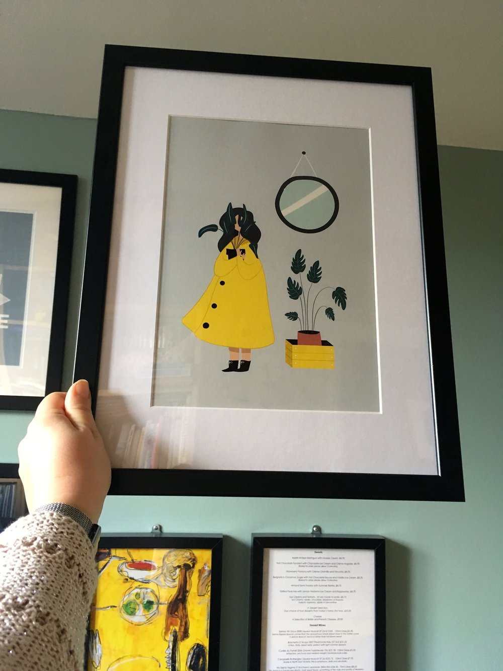 /l This print by Mode prints is destined for my gallery wall - doesn't it work well?