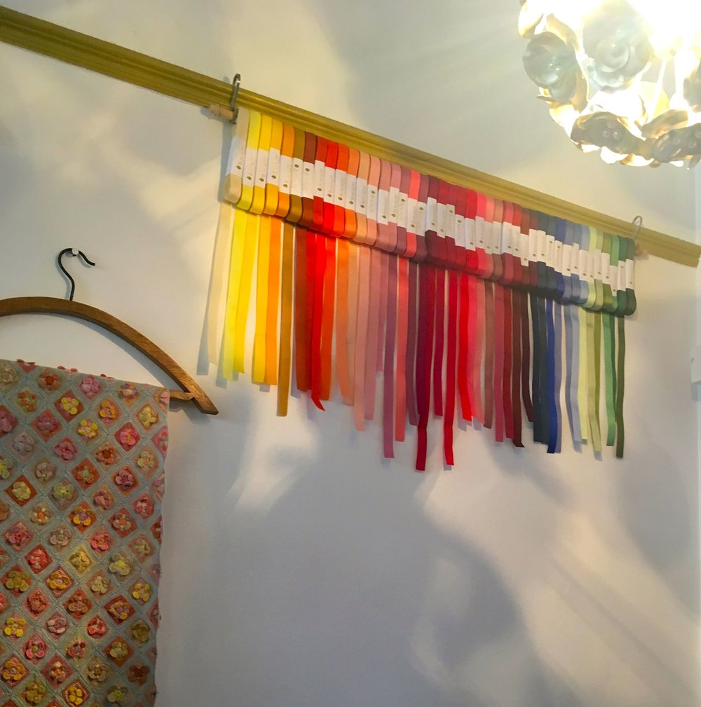 A RAINBOW  OF RIBBONS