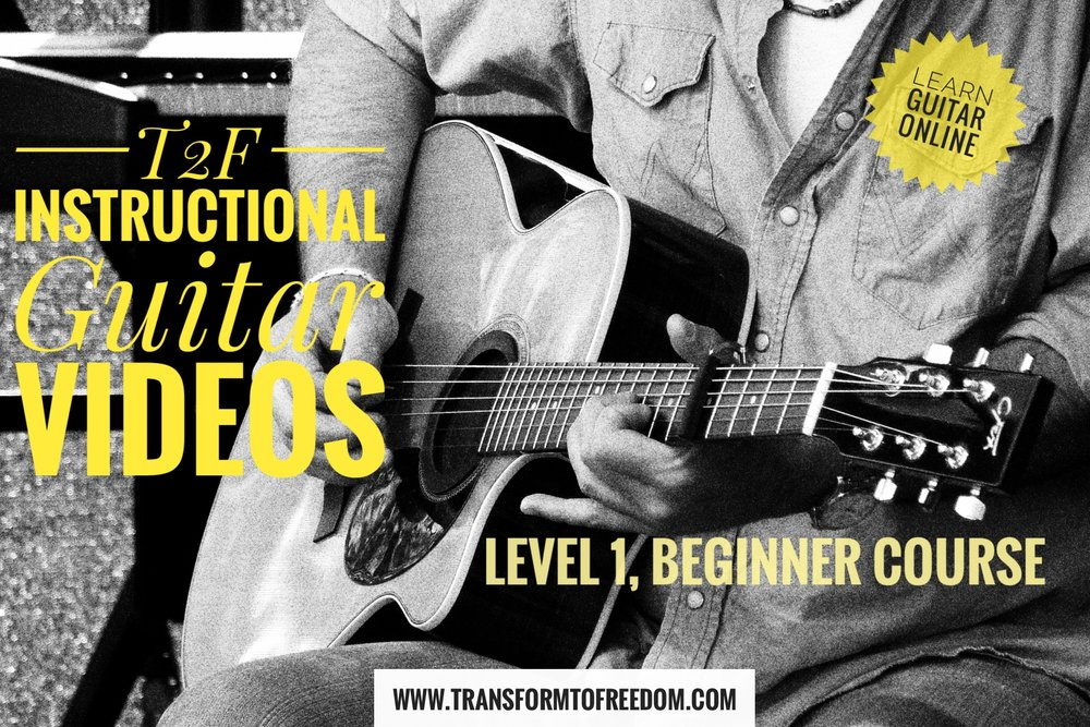 Online Guitar Lessons Transform To Freedom