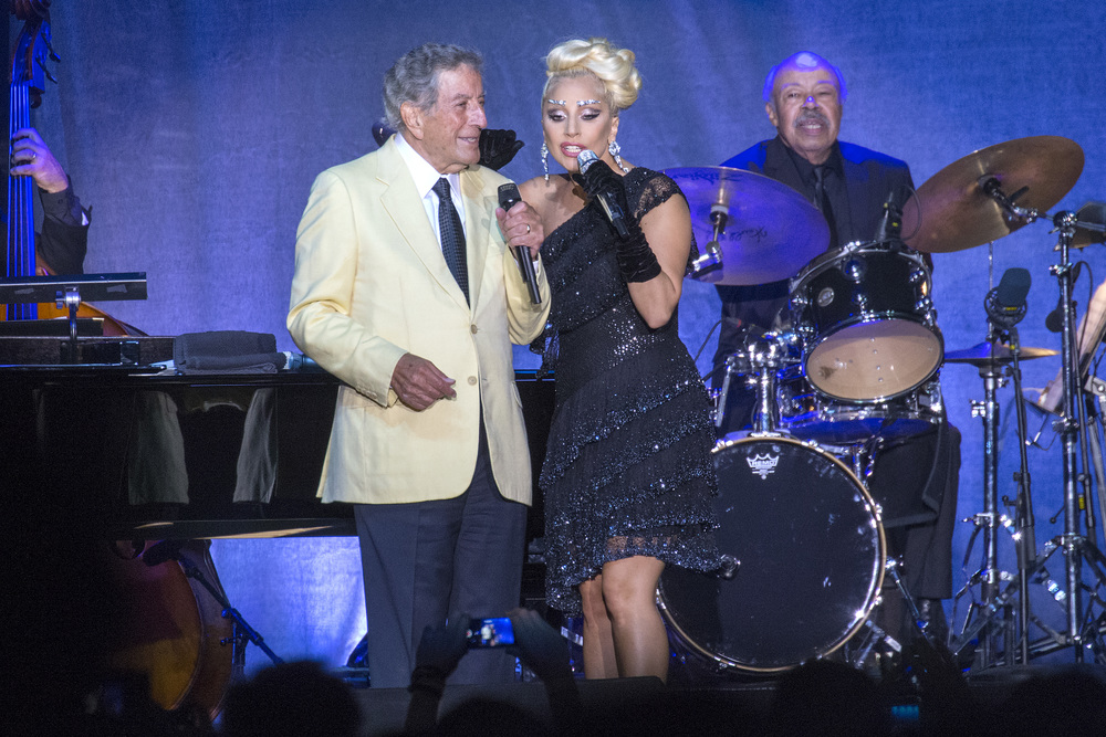 Tony Bennett and Lady Gaga