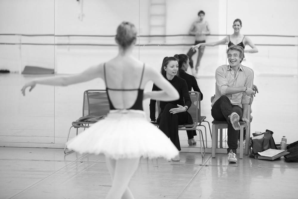 Nikolaj Hübbe and Silja Schandorff are also overlooking two other ballets, while they are finishing Swan Lake.