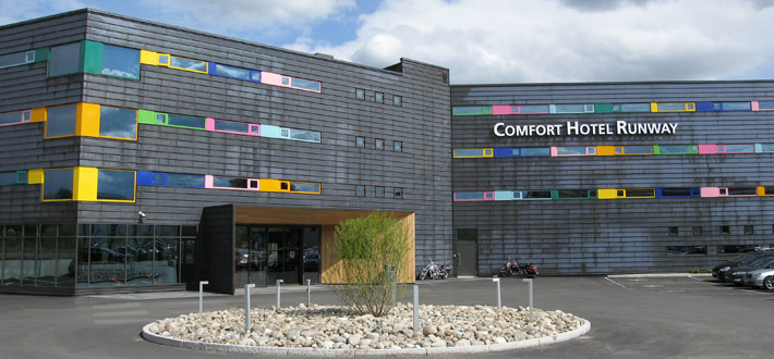 Topp Comfort Hotel Runway — Bolseth Glass NV-63