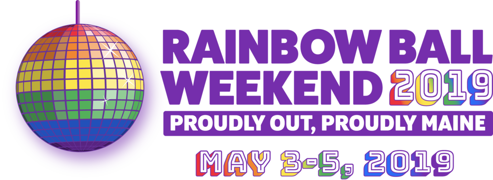 Rainbow Ball Weekend Banner