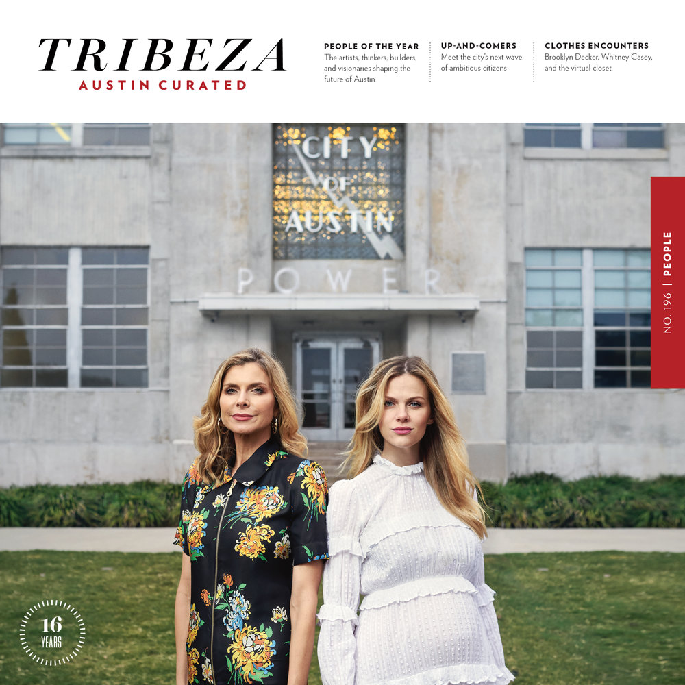 Editorial art direction and design, from cover-to-cover, for   TRIBEZA  , Austin's  leading independent arts & culture  magazine. Working remotely from NYC, I've served as its Art Director since November 2016.  In addition to working on the editorial pages, I also design select advertisements and sponsored content as well as execute all prepress / print production duties to ensure high-quality printing standards.