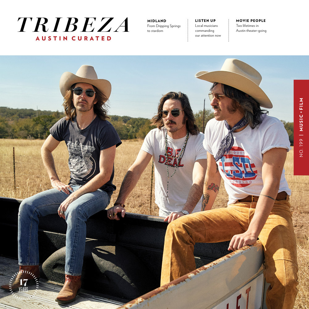 Editorial art direction and design, from cover-to-cover, for   TRIBEZA  , Austin's leading independent arts & culture magazine. Working remotely from NYC, I served as its Art Director from November 2016 to May 2018.  In addition to working on the editorial pages, I designed select advertisements and sponsored content as well as executed all prepress / print production duties to ensure high-quality printing standards.