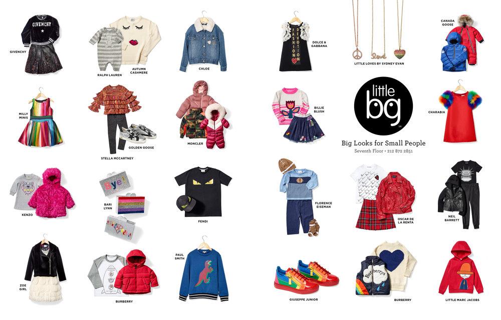 "Advertisement for Little BG within Bergdorf Goodman's Fall 2018 Magazine. 19 x 10.875"". On-set Art Direction and Styling. Photographer Jens Mortensen."