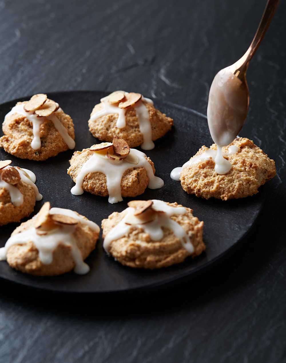 gluten free almond spice cookies for christmas
