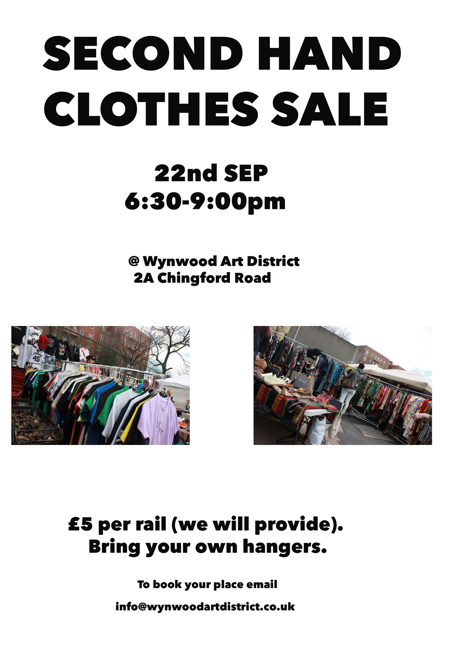 Second hand clothes sale — WYNWOOD