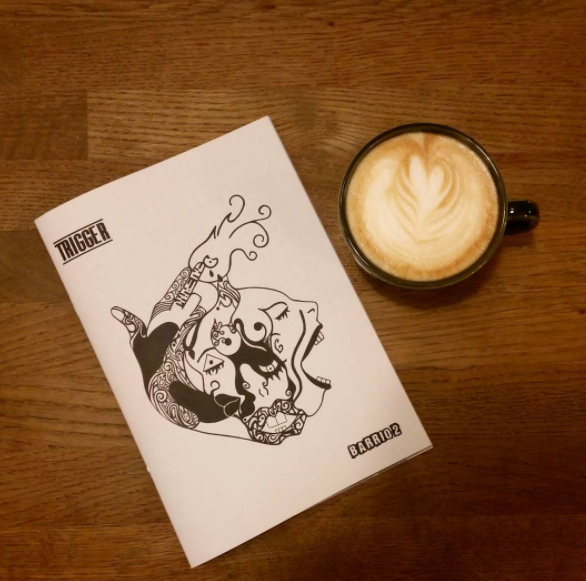 Issue 2 of our Zine 'Barrio 2' is out now. Grab in the coffee shop. We are planning to distribute this Zine around other places so check back to see where we have out them. Want to get involved in our next issue? The theme is 'Boundaries' Deadline 31st March. Email info@wynwoodartdistrict.co.uk