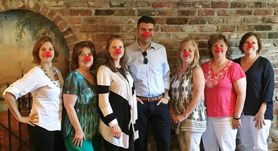 FHC Advisory Board shows off their red noses!
