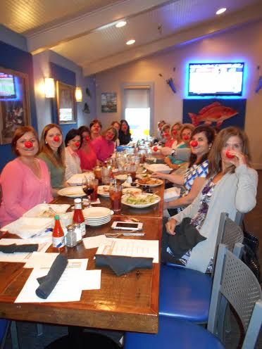 Our nurses with their red noses