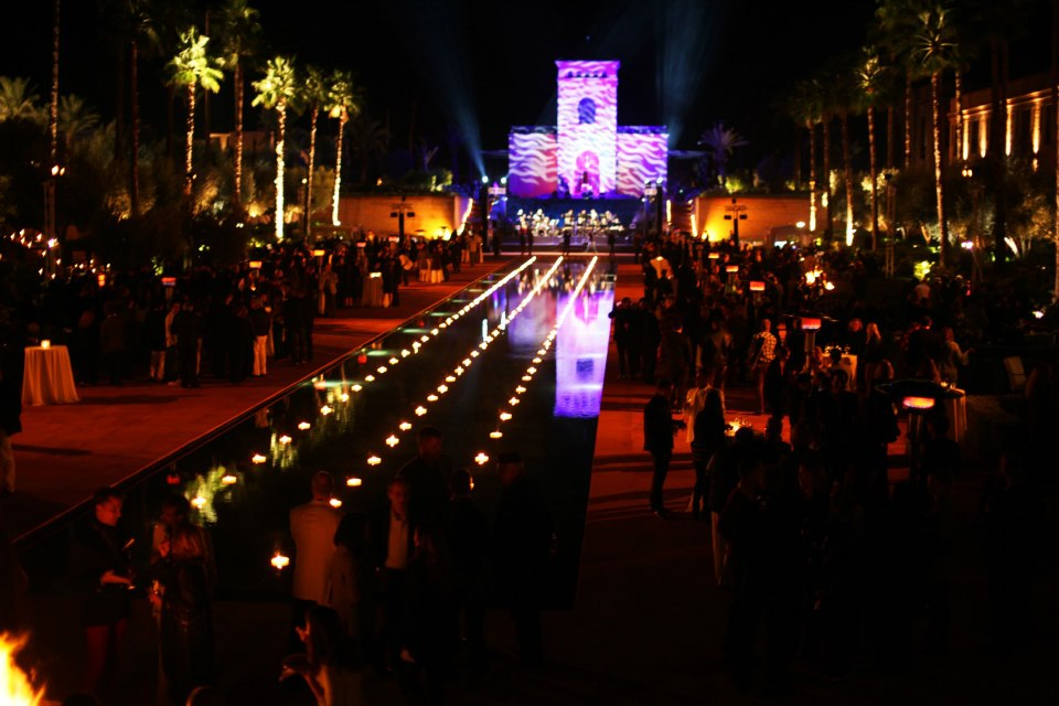 The party at The Selman Hotel in Marrakech
