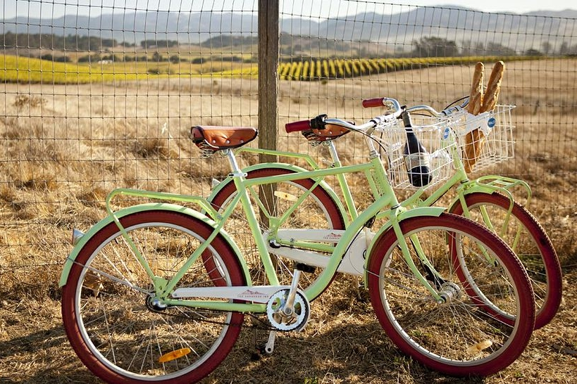 Bikes to get around Carneros Inn