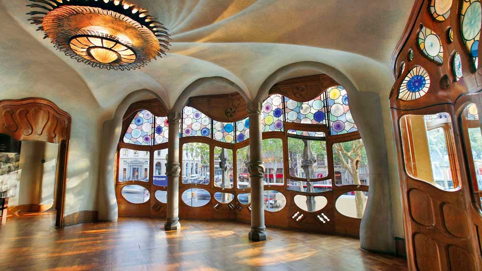 Inside the Casa Batlló