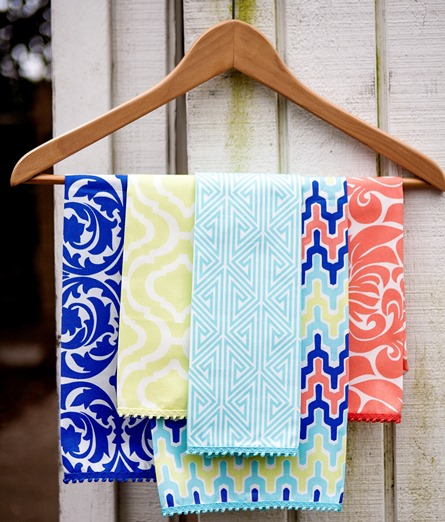 colorful cotton table linens