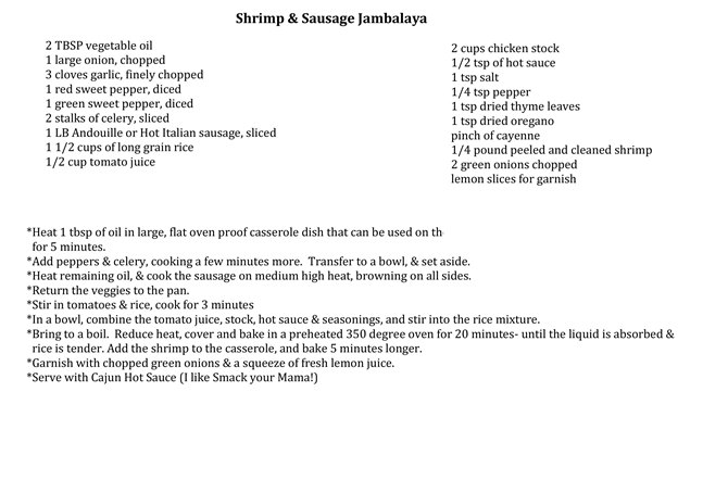Sausage-and-Shrimp-Jambalaya Hen House Linens