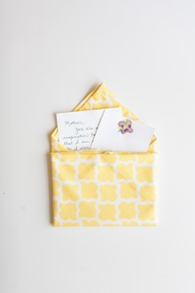 mother's day cloth napkin fold
