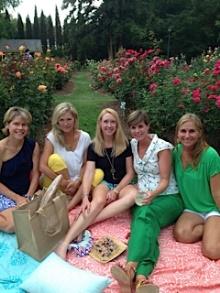 cotton cloth linens for picnic