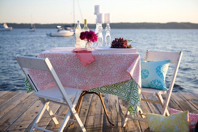 dockside table