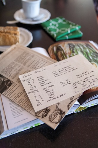 menu planning for Thanksgiving