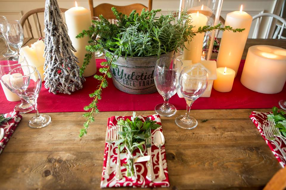 Festive Cotton Table Linens