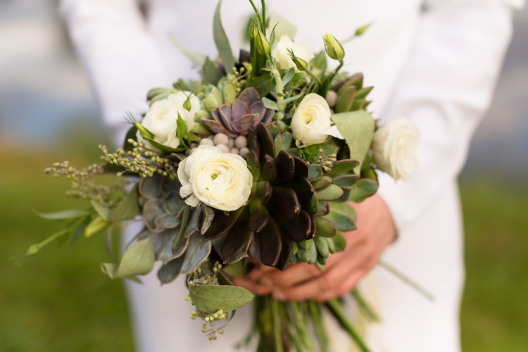 A succulent bouquet that lasts as a remind of the special day. Designed by Meg Dodini of Succulents and Saffron Event and Floral Design.  http://www.succulentsandsaffron.com/blog/2015/3/26/feeling-succulent-y