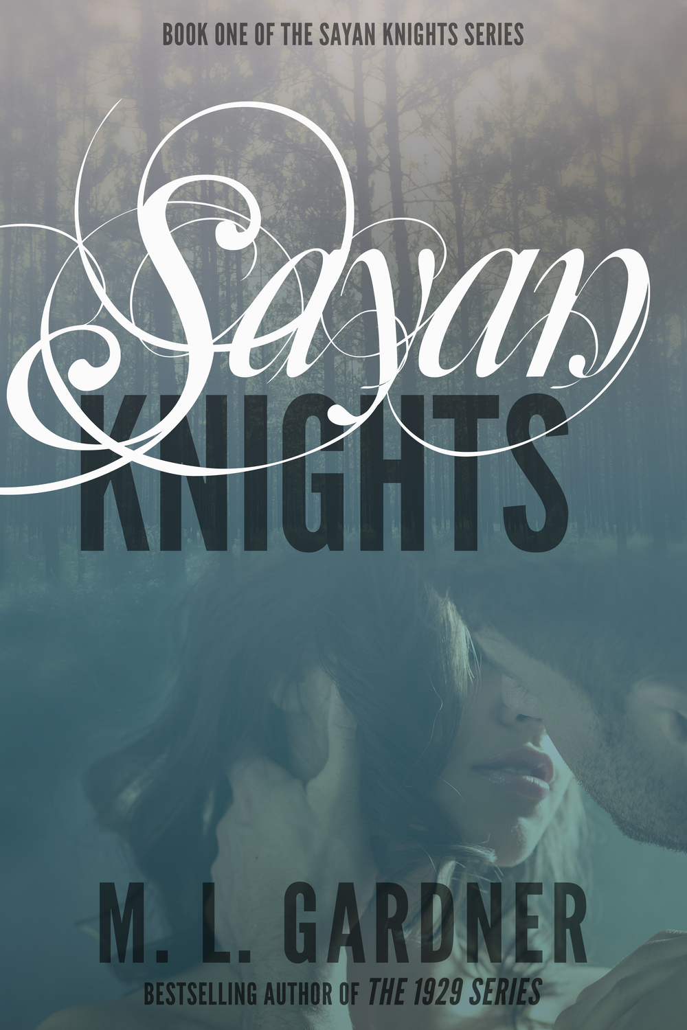 New cover for M.L. Gardner's Sayan Knights.