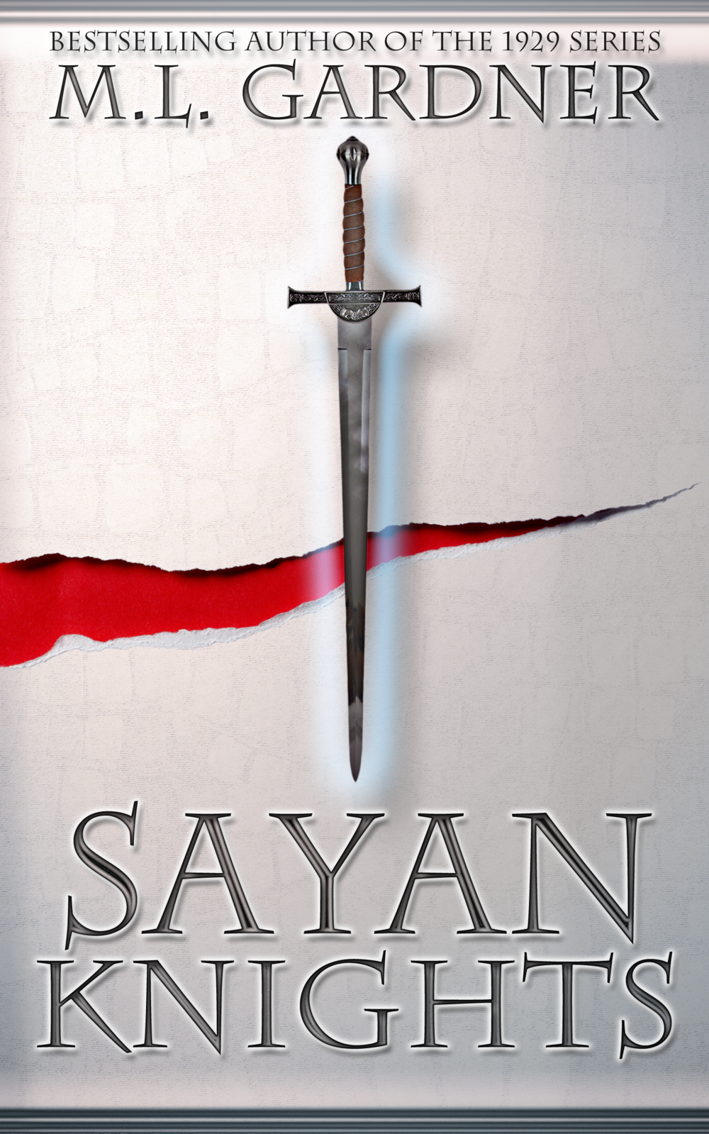Original cover for M.L. Gardner's Sayan Knights.