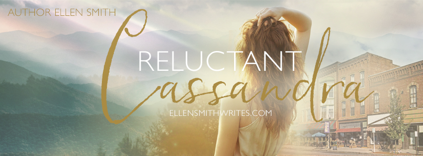 Ellen Smith's Reluctant Cassandra Facebook Banner || Designed by TheThatchery.com